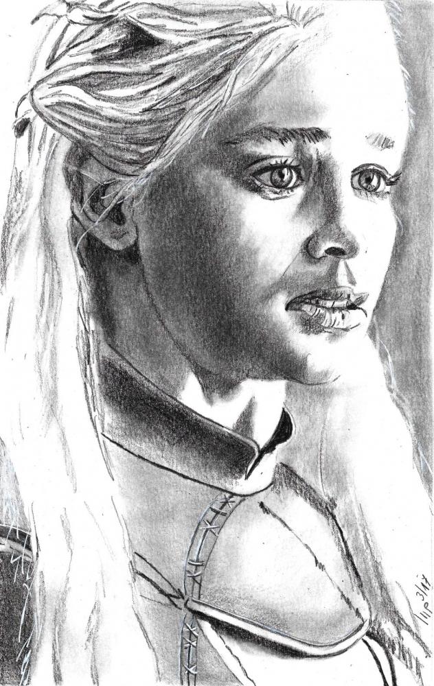 Emilia Clarke par patrick